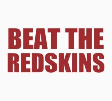 New York Giants - BEAT THE REDSKINS - Red by MOHAWK99