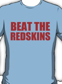 New York Giants - BEAT THE REDSKINS - Red T-Shirt