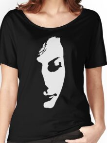 Half Face Women's Relaxed Fit T-Shirt