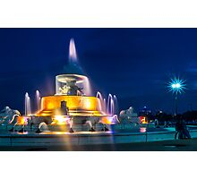 Belle Isle Fountain Photographic Print