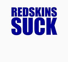 New York Giants - REDSKINS SUCK - Blue Unisex T-Shirt