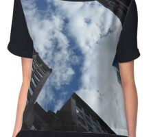 Boston Architecture and Sky Chiffon Top