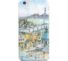 Il Porto (view of Genoa) iPhone Case/Skin