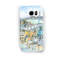 Il Porto (view of Genoa) Samsung Galaxy Case/Skin