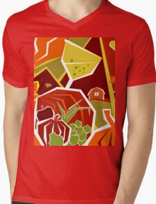 Funky Thanksgiving  Mens V-Neck T-Shirt
