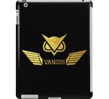 VanosS Wings Gold Limited iPad Case/Skin