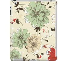 Flower Pattern iPad Case iPad Case/Skin