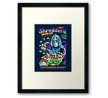 Shreddered Wheat Framed Print