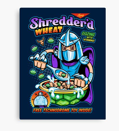 Shreddered Wheat Canvas Print