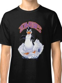 Zombies Are Cool - Necromancer Penguin Classic T-Shirt