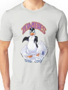 Zombies Are Cool - Necromancer Penguin Unisex T-Shirt