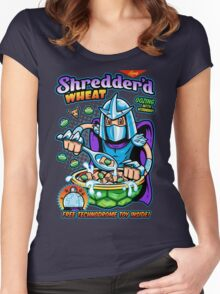 Shreddered Wheat Women's Fitted Scoop T-Shirt