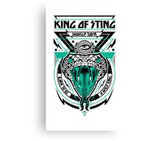 King of Sting Canvas Print