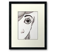 City-eye Framed Print