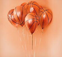 Basketball Balloons by Kitty Bitty