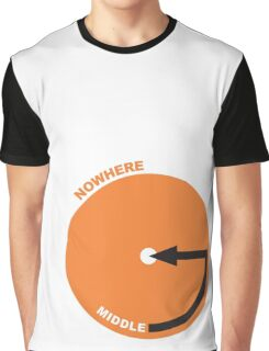 middle of nowhere Graphic T-Shirt