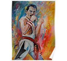 Freddie Mercury 03 Poster