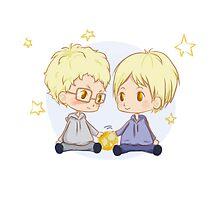 Haikyuu!! - Tsukishima Brothers by TrashCat