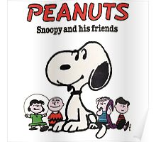 Snoopy And Friends Poster