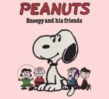 Snoopy And Friends One Piece - Long Sleeve