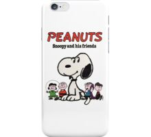 Snoopy And Friends iPhone Case/Skin