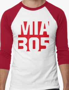MIA 305 Men's Baseball ¾ T-Shirt