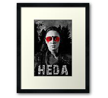 Commander Heda Framed Print
