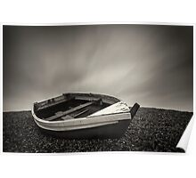 Weybourne Beach Boat Poster