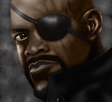 Nick Fury by Jay Payne