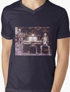 skeletons Mens V-Neck T-Shirt