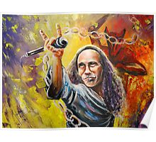 Ronnie James Dio Poster