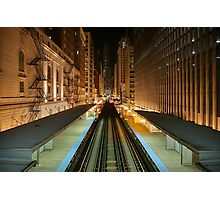 Subway Chicago Photographic Print