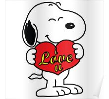 Snoopy Fans love Poster