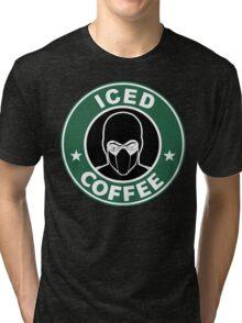 Mortal Kombat •Sub Zero •Iced Coffee Tri-blend T-Shirt