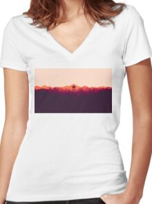 Perfect View Women's Fitted V-Neck T-Shirt