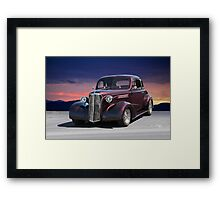 1937 Chevy 'Black Cherry' Coupe Framed Print