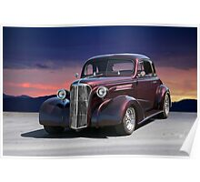 1937 Chevy 'Black Cherry' Coupe Poster