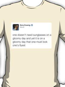 Gloomy Days with Ezra Koenig T-Shirt