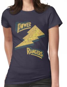 Power Rangers •Classic Logo  Womens Fitted T-Shirt