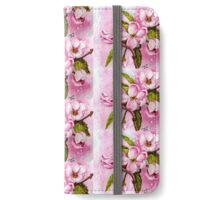 DELICATE PINK APPLE BLOSSOMS iPhone Wallet/Case/Skin