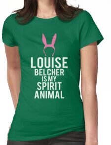 Louise Spirit Animal Womens Fitted T-Shirt