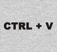 CTRL + V, Baby T shirt Kids Clothes