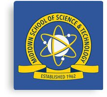 Midtown School of Science and Technology Logo Canvas Print