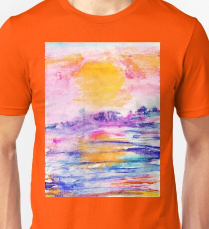 Secret Island - Dao Yin (see Howard Gibbon.com) Unisex T-Shirt