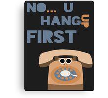 Hangups Canvas Print
