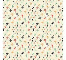 Colored stars Photographic Print