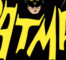CatMan Sticker