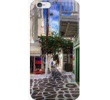 Mykonos Plateia iPhone Case/Skin