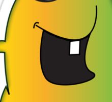 Cute Cartoon Alien Sticker