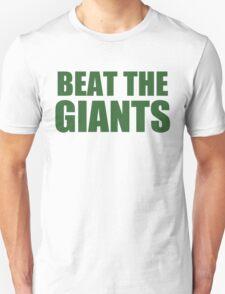 Philadelphia Eagles - BEAT THE GIANTS - Green Text T-Shirt